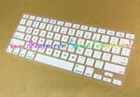 Wholesale Pro America - USA US America Language Keyboard Protective Cover Clear crystal Elastic Silicone skin For Macbook Pro Air 13 15 17 Laptop Notebook 10pcs