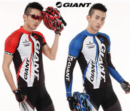 Wholesale Costume Giant Powered By Sram Cycling Biker Suit Sports Set Jersey and Pant