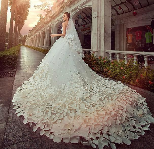 Blinged Out Wedding Dresses