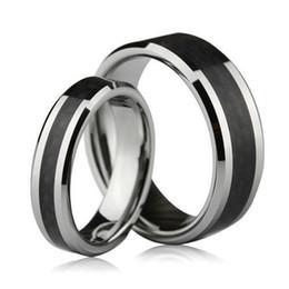 s9q 8mm tungsten carbide carbon fiber unisex wedding band ring mens ladies gift aaaali