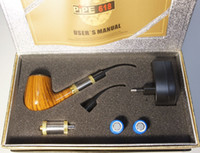 Wholesale Electronic Pipe Set - 20%OFF !!! E Pipe 618 Pipe Electronic Cigarettes Set Series old-fashioned Vapor E Smoking Pipe style Electronic Smoking Pipe Starter Kits