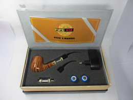 Wholesale High Quality Epipe - 20% OFF !!! Newest designed big vapor pipe618 E-pipe 618 OH epipe 618 electronic cigarette with high quality package a full sets accessories