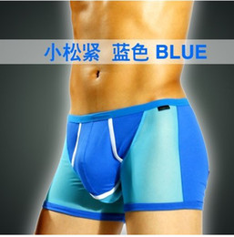 Wholesale White Pants Pouch - Dragon vitality of men's underwear pants U convex pouch underwear men increased health care bullets separation scrotum