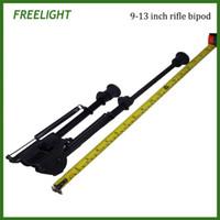 montaj için taban toptan satış-9-13 inç Taktik Harris tarzı Katı Taban Montaj Bipod tüfek tabanca için Ağır Çentikli Bacak Bi-pod avcılık çekim için bipod