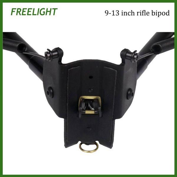9-13 pollici Tactical Harris style Caccia tiro bastoni bipiede, staccare rapidamente pieghevole bipiede forte rinculo airsoft riflescope