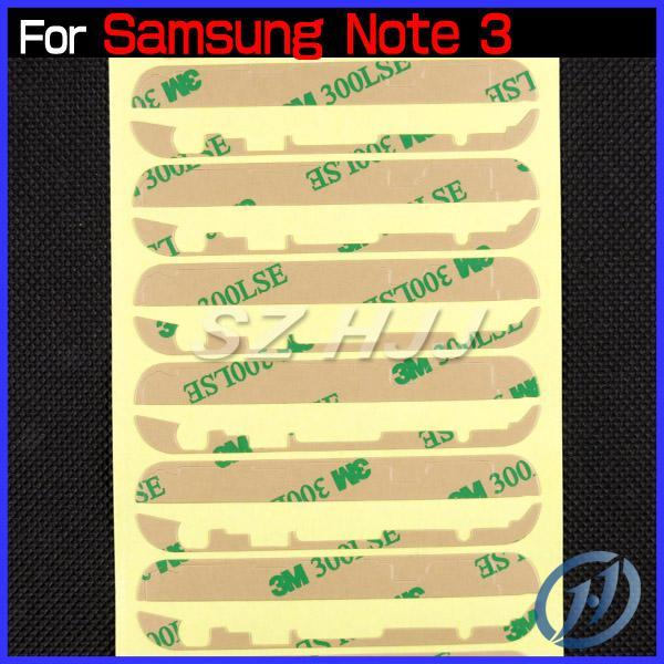 Samsung Galaxy S3 için 3 M Cam Ekran Yapıştırıcı I9300 S4 I9500 S5 Not 2 Not 3 S3 Mini S4 Mini Ön Cam Lens Sticker Tamir bölüm