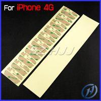 iphone schneidenaufkleber großhandel-Pre-Cut 3M anhaftender Aufkleber für iPhone 4 iPhone 4S iphone5 iPhone 5 5C 5S vorderer Glaslinse-Touch Screen