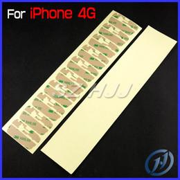 Autocollant en verre iphone 3m en Ligne-Pré-Cut 3M Adhésif Autocollant pour iPhone 4S iPhone 4S iphone5 iPhone 5 5C 5S Avant En Verre Écran Tactile