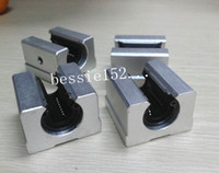Wholesale Linear Bearing Wholesale - 4pcs SBR16UU 16mm Linear Ball Motion Bearing Block