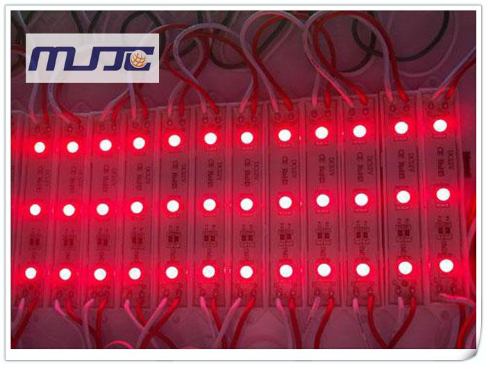 Vattentät IP65 12V DC 3 LED-lampor 5050 LED-bakgrundsbelysning LED-moduler lampa för reklamskylt