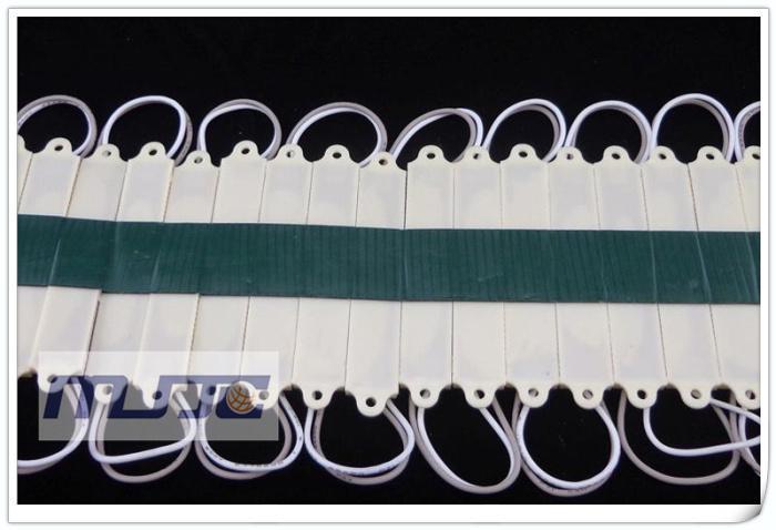 Vattentät IP65 12V DC 3 LED 3528 LED-bakgrundsbelysning LED-moduler Ljus för reklamskylt