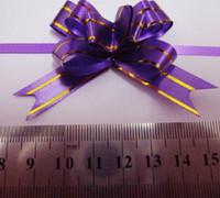 mediendekor großhandel-Freies Schiff 1000 stücke Mixed Medium (15 * 290mm) Weihnachtsgeschenk Verpackung Zug Bogen Bänder Dekor Urlaub Blumen Bänder für Party Hochzeit