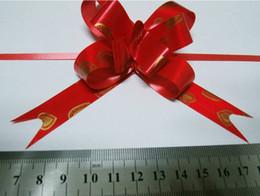 cajas de regalo de satén al por mayor Rebajas La nave libre 1000pcs grande (18 * 370 mm) Regalo de Navidad embalaje de la joyería tirar en arco cintas decorativas del regalo de vacaciones Cintas flor para la boda del partido