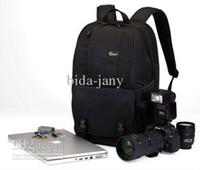 """Wholesale Lowepro Laptop Shoulder Bags - Wholesale - New Lowepro Fastpack 250 Backpack for DSLR &15.4"""" laptop --Black,100% Genuine Backpacks Bag"""