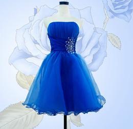 Canada Robes de demoiselle d'honneur à la mode courte une ligne bretelles chérie perles à volants robes de demoiselle d'honneur junior Mini Corset robes de bal demoiselle d'honneur Offre