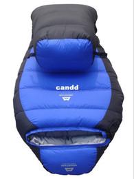 sleeping bag duck 2019 - -15 Degree Winter Outdoor Down Sleeping Bag Mummy Type Duck Down Winter Thickening Down Sleeping Bag -25 Degree cheap sl