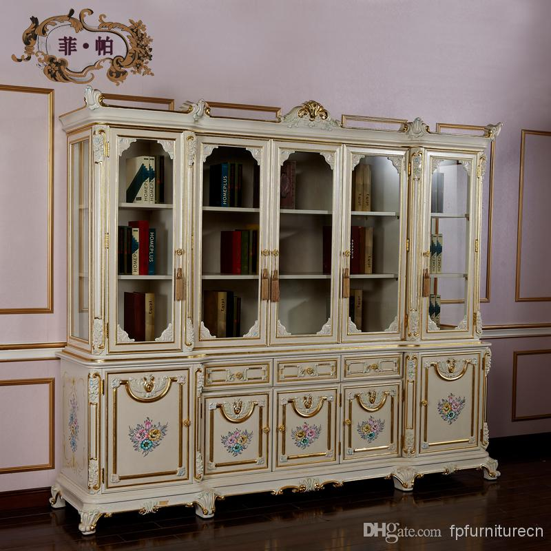 classical office furniture. high end wooden executive bookcase italian classical home office furniture free shipping u
