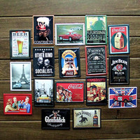 Wholesale Sexy Bar Paintings - [ Mike86 ] Cheap Vintage Tin Signs Small Poster Sexy lady Iron Painting ktv coffee Bar Retro Metal Signs 34PCS LOT Mix Items