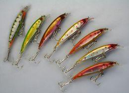 Wholesale Minnow Crank Baits - 30pcs Fishing Lure Crank Bait Minnow Hook 6g 8cm