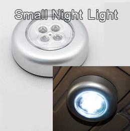 2019 magnet blaues licht 4W hohe helle LED Stick Touch Lampe Post leuchtet kleine Nachtlicht Kleiderschrank Lichter Auto Kofferraum Reitstock Lampe Nachtlicht