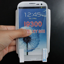 Wholesale Galaxy S3 Mini Retail - Anti-Glare Frosted Matte LCD Screen Protector Film for iPhone 4 5 5C Samsung Galaxy i9300 i9500 S3 S4 Mini No Retail Package
