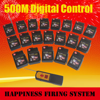 Wholesale Wireless Remote Control Firing System - FedEX Free shipping,20 channels cues 500 m wireless fireworks system, remote control sequential & salvo fireworks firing system(DBR05-X1 20)