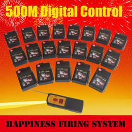 Systèmes de feux d'artifice sans fil en Ligne-FedEX Livraison gratuite, 20 canaux / signaux 500 m système de feux d'artifice sans fil, système de tir à distance de feux d'artifices salvo séquentiels (DBR05-X1 / 20)