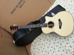 Wholesale Hollow Guitars - 2018 New Arrival + Factory + custom 916ce Series Electric Acoustic guitar Fishman Pickups Guitar kind shooting in stock 914ce guitar