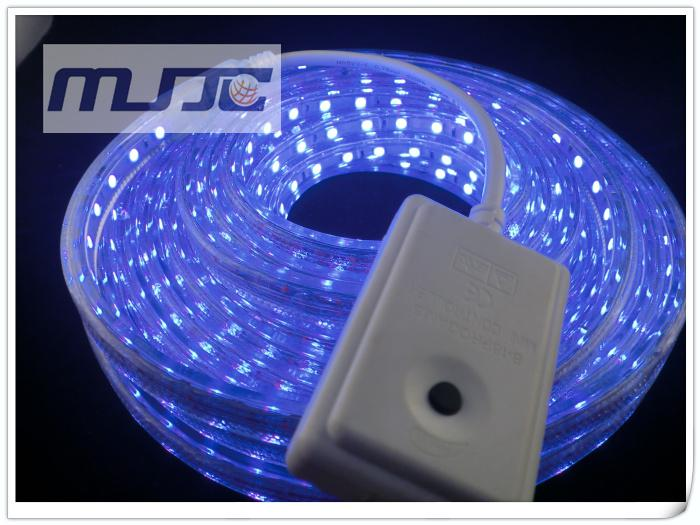 220V RGB 8 Funciones Controlador de micro control para 220V AC SMD5050 RGB LED Strip Light