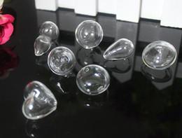 Wholesale Terrarium Globe Necklace - 20PCS Glass Globe necklace Pendant,Glass Globe Terrarium,Glass Bubble Pendant,Glass globe bottles,Wishing bottle pendant,DIY glass vials