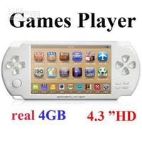 """Wholesale Mp4 Player Video Out - Wholesale - Dropshipping 4GB 4.3"""" MP4 MP5 GAME PLAYER +TV OUT+1.3MP CAMERA+VIDEO+ over 2000 Games"""