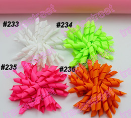 Wholesale Jade Barrette - NEw 160pcs 3.5'' korker hair bows (SEW ones) korker hair clips boutique corker hair clips jade