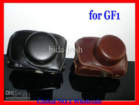 Wholesale New arrival Leather Camera Case Bag for Panasonic Lumix GF1 GF GF1