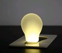 Wholesale Wholesale Wallet Best Price - Best price novelty Mini Portable Pocket LED Card Light Lamp put in Purse Wallet 500PCS