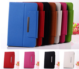 Wholesale Android Mobile Tablet Pc - 7 inch 8 inch PU Leather Case Colorful Universal Adjustable Flip Stand Cover for Q88 Android Tablet PC MID Mobile Phone GPS PSP