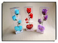 Wholesale 5sets Creative Romantic Rose Flower Soap For Valentine s Mother s Day Christmas Decoration Wedding Gift XZH
