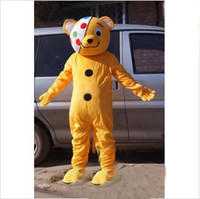 Wholesale Happy Bear Mascot - Happy Bear Mascot Costume Adult Party Christmas Mascot Costume Cartoon Halloween