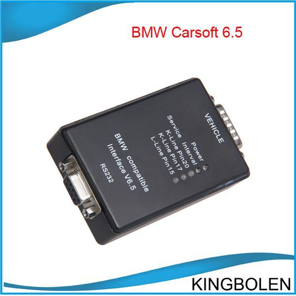 Livraison gratuite BMW Carsoft 6.5 Interface compatible pour BMW MCU OBD2 EOBD UOBD complet Kits outil de diagnostic BMW voiture douce 6.5