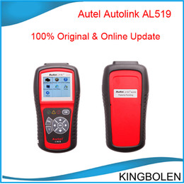 Wholesale Diagnostic Scan Tool Eobd - New designed 100% Original Autel AutoLink AL519 OBDII EOBD & CAN Scan Tool Support Online Updated free shipping