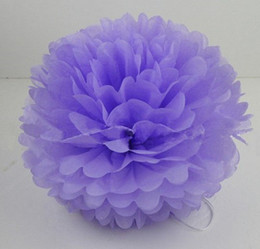 "Wholesale Tissue Paper Poms Wholesale - Buy 10pcs get 10pcs Free--20 Colors 25cm (10"") Tissue Paper Pom Poms Wedding Party Decor Flower Balls For For Baby Shower Favors Decor"