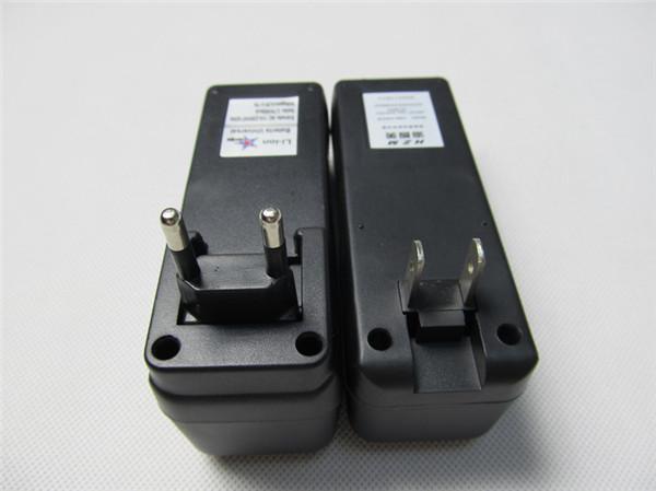 多機能18350 18650 18650リチウムイオン電池EU US充電器ダブルチャージャ普遍的な充電式バッテリー充電器3.7V MOD E CIG DHL