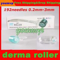 Wholesale Derma Roller Fda - FDA MT micro needle derma roller for skin rejuvenation, MT 192 micro needle derma roller