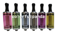 Wholesale Ego Ce4 6ml Atomizer - Newest colourful 6ml DCT clearomizer 510 DCT CE4 CE6 cartomizer clear atomizer for ego series e cigarette