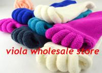 Wholesale Leg Massaging Socks - 5 Colors Comfort Foot Alignment Treatment Socks, The Sleeping Socks, Happy Feet Socks, Massage Five Toe Socks