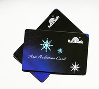 Wholesale 2014hot bew product realy work Radisafe Anti Radiation card test by Morlb lab EMF protection card bag