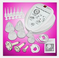 machines pour le sein achat en gros de-Pompe à vide agrandissement de la pompe de massage Lifting du sein Enhancer Massager Bust Cup Body Shaping Beauté Machine