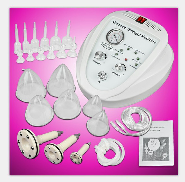 New li ting vacuum ma age therapy enlargement pump lifting brea t enhancer ma ager bu t cup body haping beauty machine