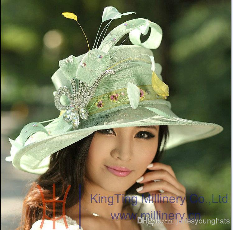 Hats Caps Womens Hats Caps Sun Hats Lime Green Wide Brim 9cdf175129a0