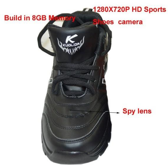 2019 Shoes Covert Camera Shoes Dvr Quality 720p Hd 8gb
