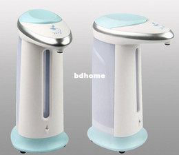 Free Shipping Automatic sensor soap dispenser / automatic hand dispenser / soap dispenser / hand sanitizer implement #1713